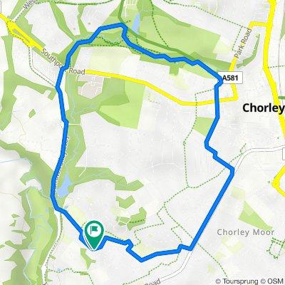 78 Keepers Wood Way, Chorley to 82 Keepers Wood Way, Chorley