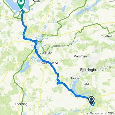 Sørkelvej 12, Fårvang to Hulager 2, Løgstrup