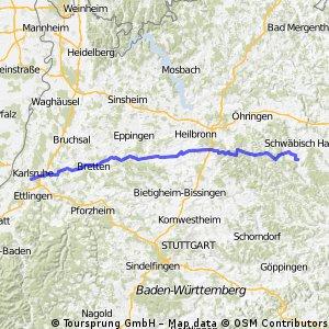 Karlsruhe Westheim (bei SHA)