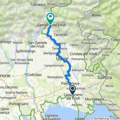 K4.03 Cervignano Palmanova Udine Gemona