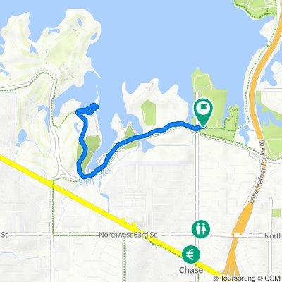 easy 3.5 miles