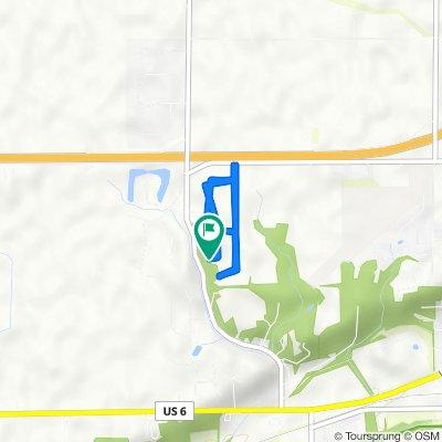 2963 E 1509th Rd, Ottawa to 2963 E 1509th Rd, Ottawa