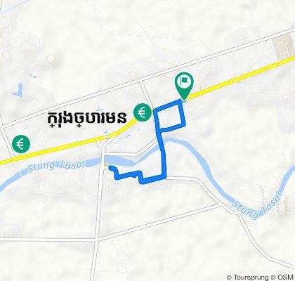 FG8J+QFH, Krong Chbar Mon to FG8J+QHG, Krong Chbar Mon