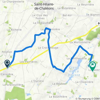 De La Maison Bertin 3, Saint-Hilaire-de-Chaléons à La Favrie 1, Sainte-Pazanne
