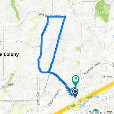 5701 SH-121 S, The Colony to 5620 S Colony Blvd, The Colony