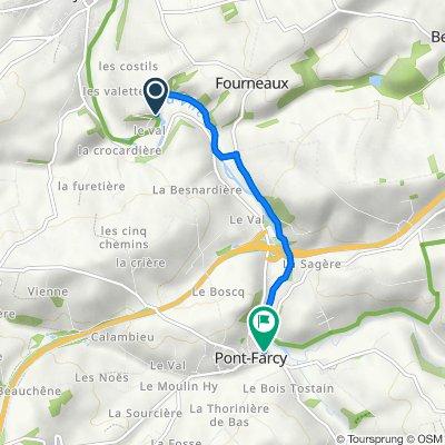 Itinéraire vers 3 Route de Caen, Pont-Farcy