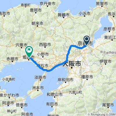7/31京都→姫路城