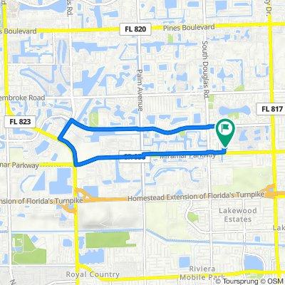 3001–3025 Canal Rd, Miramar to 8660 Beekman Dr, Miramar