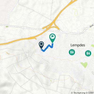 De 14 Rue du Lac Pavin, Lempdes à 35 Rue de la Fleurie, Lempdes