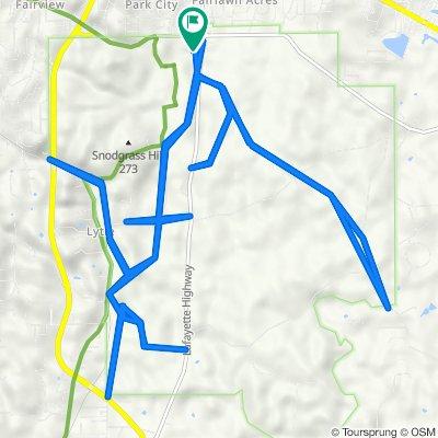 3370 Lafayette Rd, Fort Oglethorpe to 3370 Lafayette Rd, Fort Oglethorpe