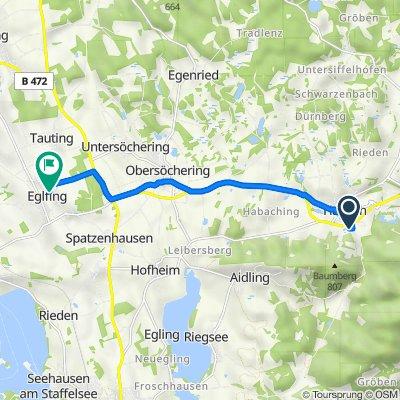Höhlmühler Straße 14, Habach nach Hauptstraße 35, Eglfing