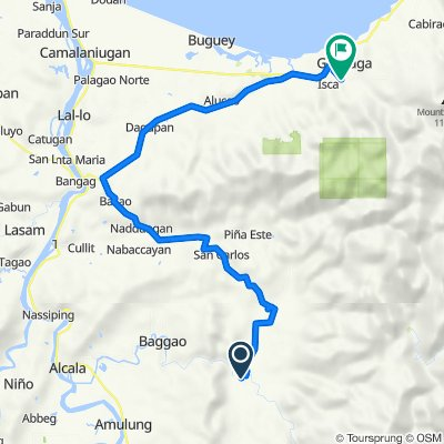 Route from Unnamed Road, Baggao