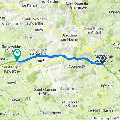 10 - Saint-Langis-lès-Mortagne à Coulonges-sur-Sarthe