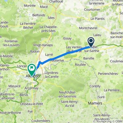 11 - Coulonges-sur-Sarthe à Alençon