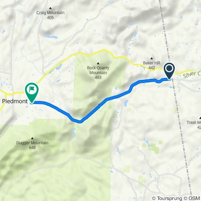 754–786 CR-239, Piedmont to 542 Vigo Rd, Piedmont