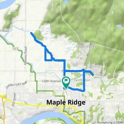 22438 125th Ave, Maple Ridge to 22448 125th Ave, Maple Ridge