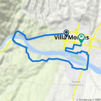 De Sbtte. Villanueva, Villa Montes a Bernardo Trigo, Villa Montes