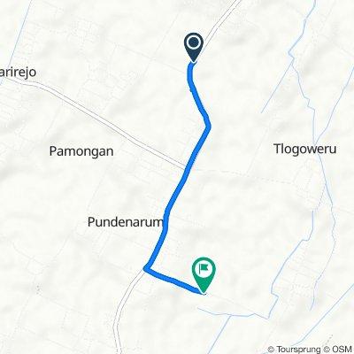 Tebasan, Guntur to Bilo 6, Kecamatan Karangawen