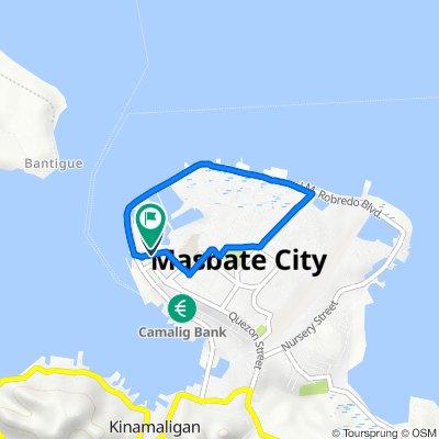 Bagumbayan Street 16, Masbate City to Bagumbayan Street 16, Masbate City