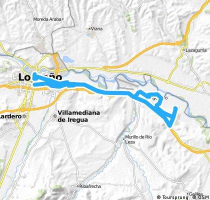 Ruta EBRO 2011 - ETAPA 07 - SABADO 16 DE JULIO - LOGROÑO - RECAJO 11 -  BODEGAS 14 - ARRUBAL 20 - ARGONCILLO 27 - RECAJO 31 - LOGROÑO - 42 KMTS