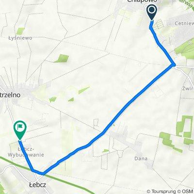 Droga Chłapowska, Władysławowo do Pucka 88, Łebcz