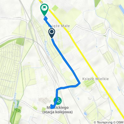Gliwicka 13, Wrocław do Głubczycka 2e, Wrocław
