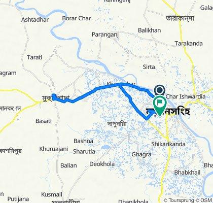 Shema Choron Rai Road 9 maktagasa, Mymensingh to Noton Bazzer Connecting Road, Mymensingh