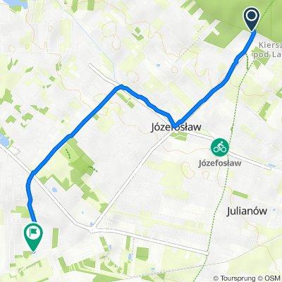 Prawdziwka 301, Kierszek do Granitowa 1, Piaseczno