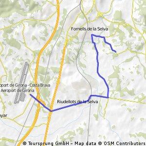Girona Vliegveld - camping Fornells