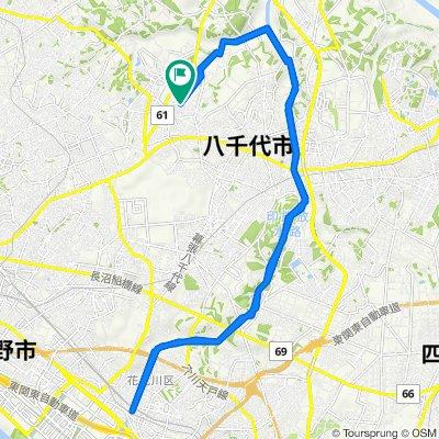 1082-4, Yoshihashi, Yachiyo to 1082-4, Yoshihashi, Yachiyo