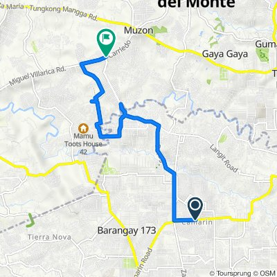 Camarin Road 15, Caloocan to Mt.View, San Jose del Monte City