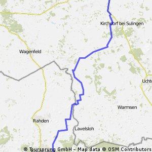 Lübbecke - Sulingen