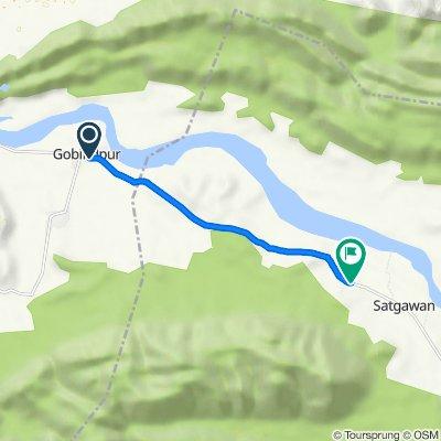 Unnamed Road, Gobindpur to Bashodih Road, Nauachak