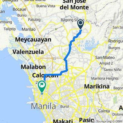 Ilang Ilang Street 1400, Caloocan to Abad Santos Avenue 2022, Manila