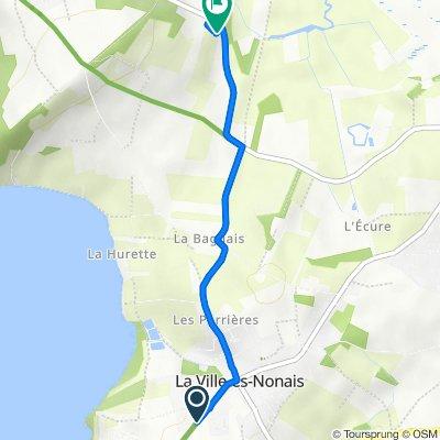 De 24 Rue de la Rance, La Ville-ès-Nonais à Route de Châteauneuf, Saint-Suliac