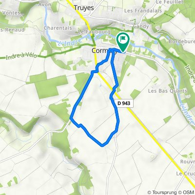 De 32 Rue du Chaisneau, Cormery à 30 Rue du Chaisneau, Cormery
