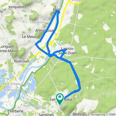 De 542 Rue Aristide Briand, Saint-Sauveur à 530 Rue Aristide Briand, Saint-Sauveur