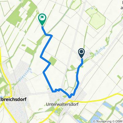 Route von Hutweidestraße 6, Schranawand