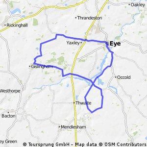 Eye to Thornham Easy Loop