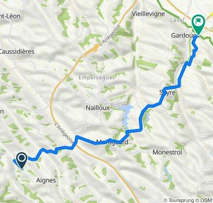 66–68 Thomas, Aignes to 245 L'Écluse des Agals, Gardouch