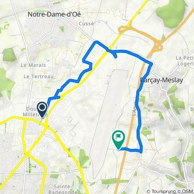De 7 Rue de la Milletière, Tours à Champ Long, Rochecorbon