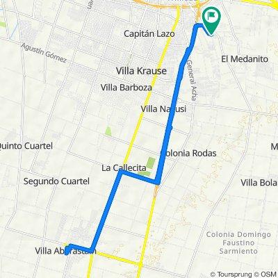 De San Juan a Pocito