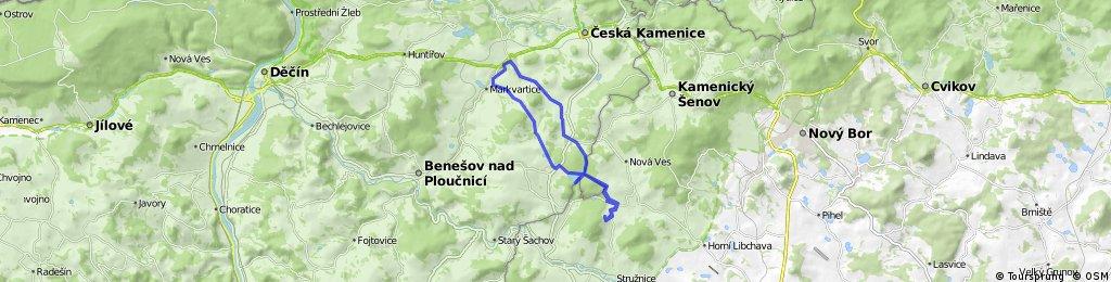 Markvartice - Karlovka - Radeč