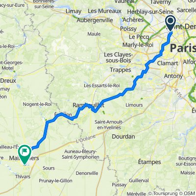 Asnières > Chartres