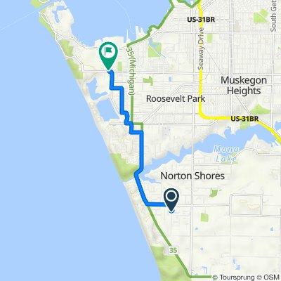 5302 Davis Rd, Norton Shores to 2565 Grove St, Muskegon