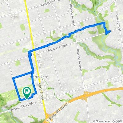 161 Burndale Ave, North York to 161 Burndale Ave, North York
