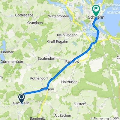 Schmiedestraße 11, Gammelin nach Am Dom 8–9, Schwerin