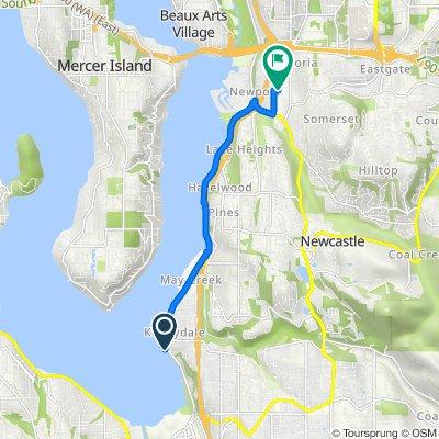 Mountain View Avenue North 2727, Renton to 124th Avenue Southeast 4168, Bellevue