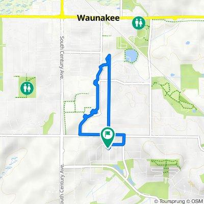1005 Waterford Ln, Waunakee to 1003 Waterford Ln, Waunakee
