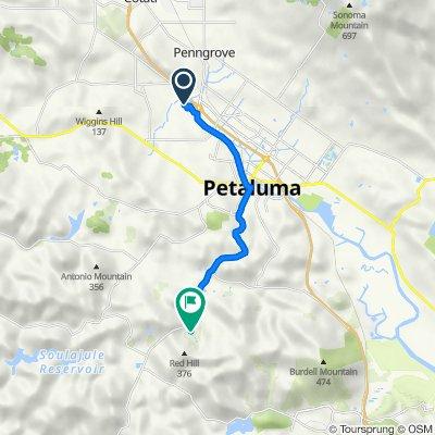 De 20 Rainsville Rd, Petaluma a 5935 Red Hill Rd, Petaluma